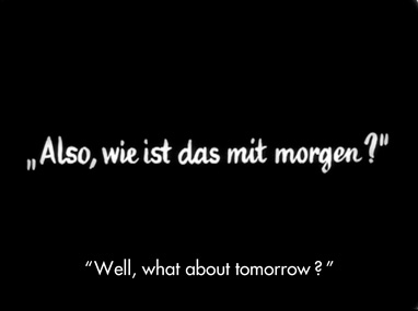 What about tomorrow?